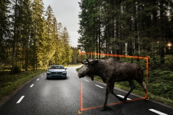 Exterior Large Animal Detection Volvo S90 1