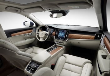Interior cockpit Volvo S90/V90 blond