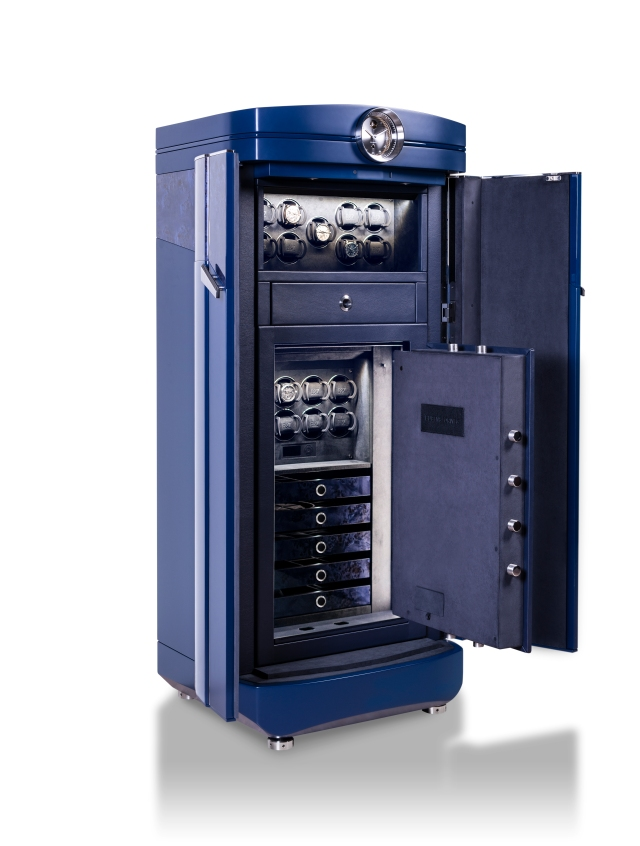 BUBEN&ZORWEG Masterpiece Galaxy Deluxe Blue Edition_side_open_safe